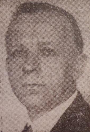 Hans Richter in einer Porträtaufnahme von ca. 1942.